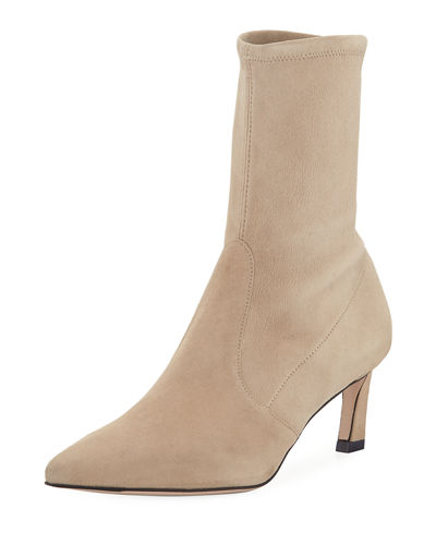 Rapture Suede Sock Booties