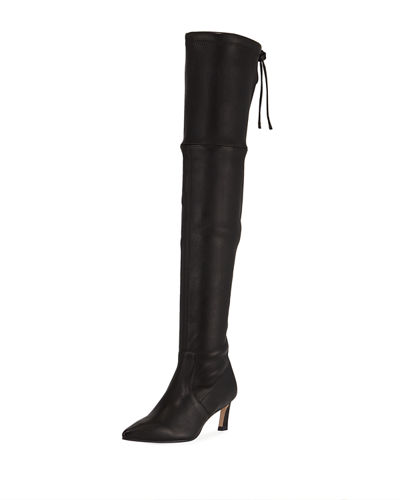 Natalia 55mm Leather Over-The-Knee Boots
