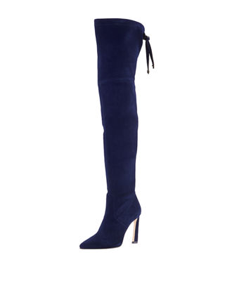 Natalia 100mm Suede Over-The-Knee Boots and Matching Items