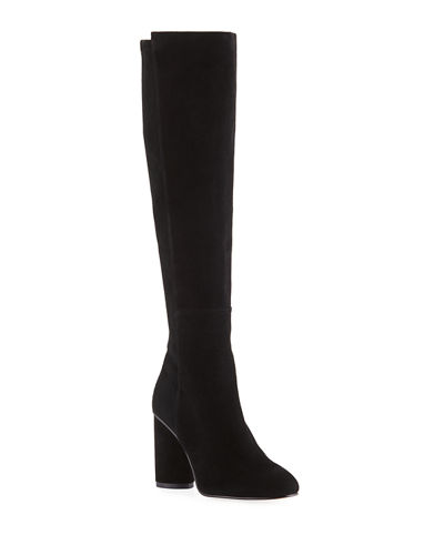 Eloise 95mm Suede Knee Boots