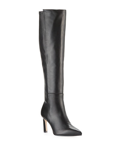 Demi 75mm Leather Knee Boots