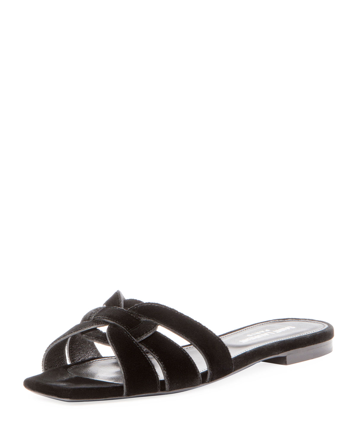 Saint Laurent Sandals NU PIEDS 05 velvet dlrWOm9P