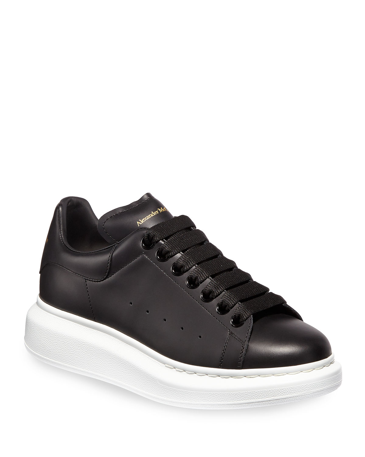db30e7bc7 Alexander McQueen Pelle Lace-Up Sneakers