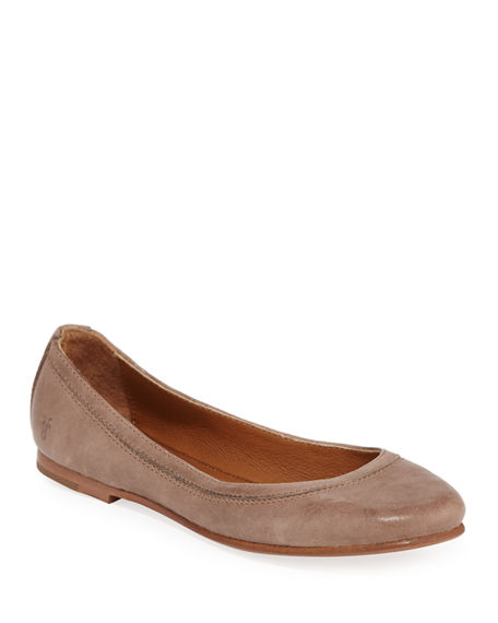 Frye Carson Leather Ballet Flats