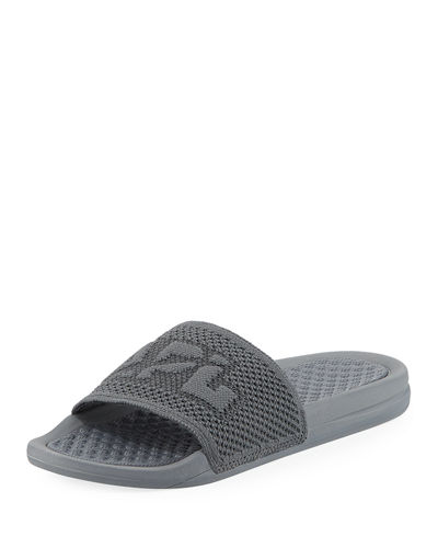 TechLoom Big-Logo Slide Sandals