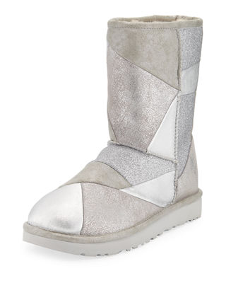 Classic Glitter Patchwork Boots by Ugg Australia