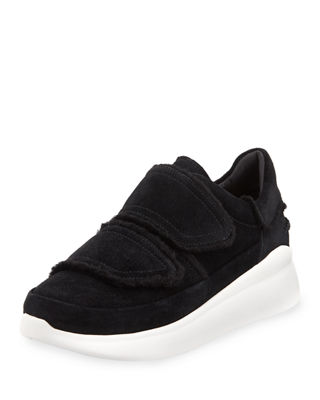 Ashby Spill Seam Sneakers, Black