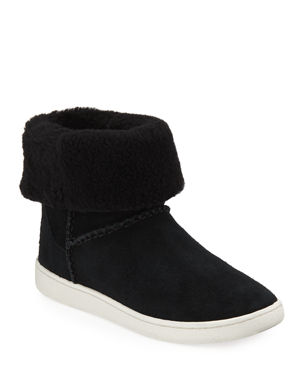 4da569cabf UGG Mika Curly Shearling Bootie Sneakers