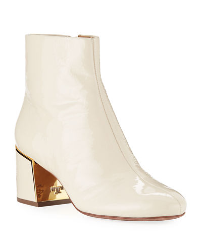 Juliana Patent Leather Booties