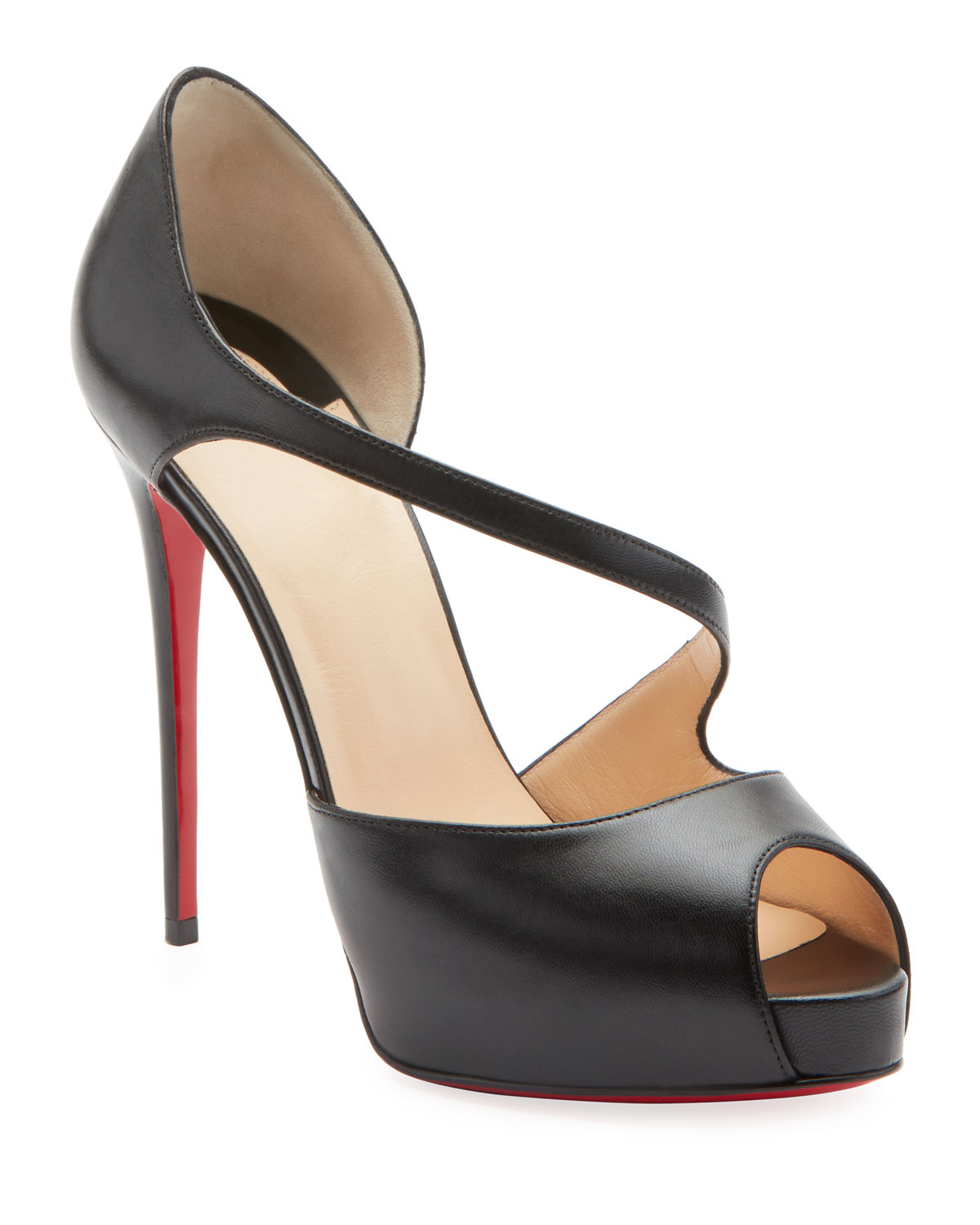 Catchy Two Red Sole Pumps