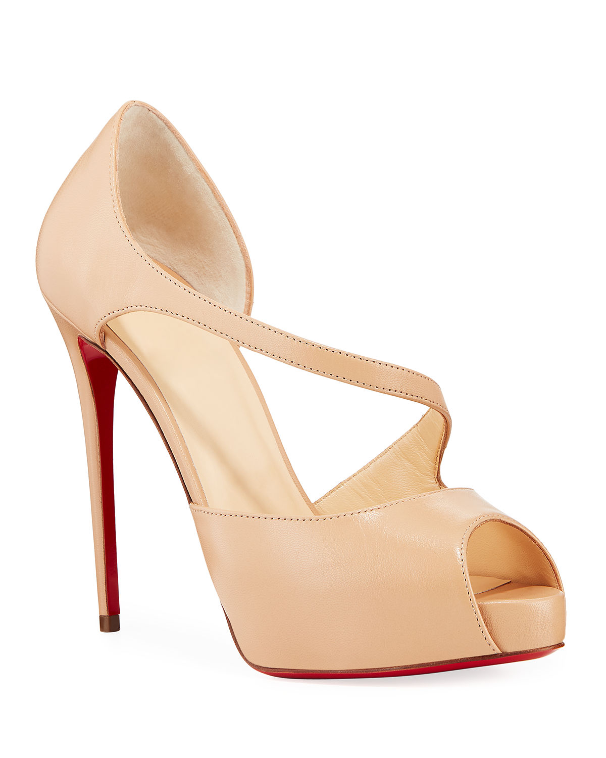 342c653137d Christian Louboutin Catchy Two Red Sole Pumps