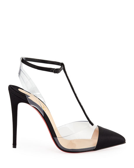 9d0e206b07e3 Image 2 of 3  Christian Louboutin Nosy Strass Red Sole Pumps