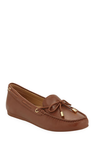 MICHAEL Michael Kors Sutton Napa Leather Moccasins