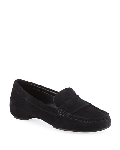 Fritt Studded Suede Loafers
