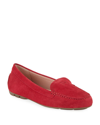 Kacey Water-Resistant Suede Loafers