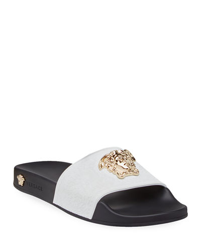720b3da4c5e Quick Look. Versace · Palazzo Medusa Pool Slide Sandals