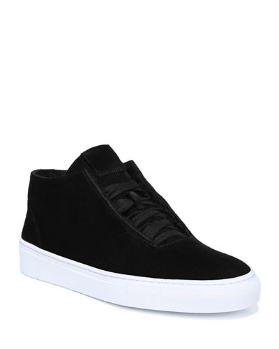 Sartin Suede Lace-Up Sneakers