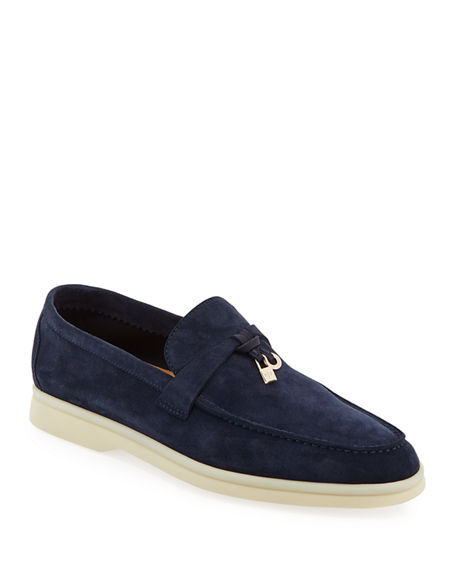 2ee40c9987c Image 1 of 4  Summer Charms Walk Suede Loafers