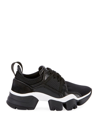 Givenchy Mixed Media Chunky Sneakers