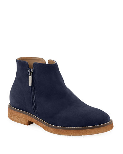Foliana Waterproof Suede Ankle Booties