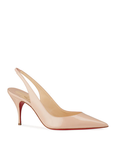 Clare Slingback Red Sole Pumps