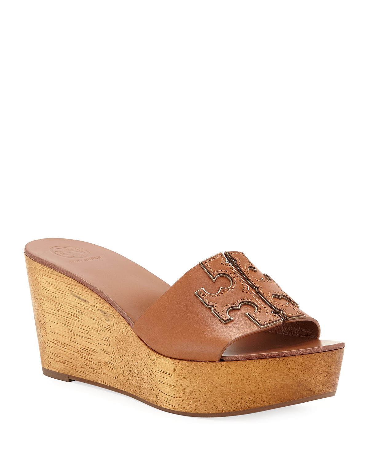 ab3623ad81ba Tory Burch Ines 80mm Wedge Slide Sandals