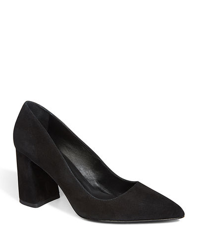 Demetra Suede Pointed Pumps