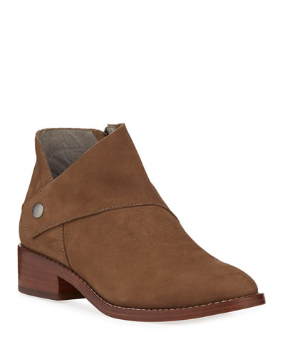Billie Wrapped Nubuck Booties