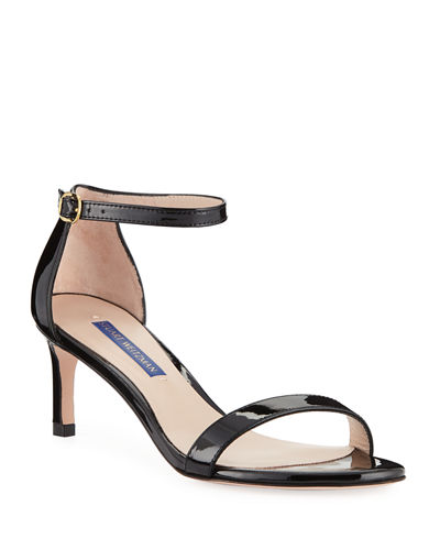 dbc02431bad Quick Look. Stuart Weitzman · Nunaked Straight Patent Leather Sandals