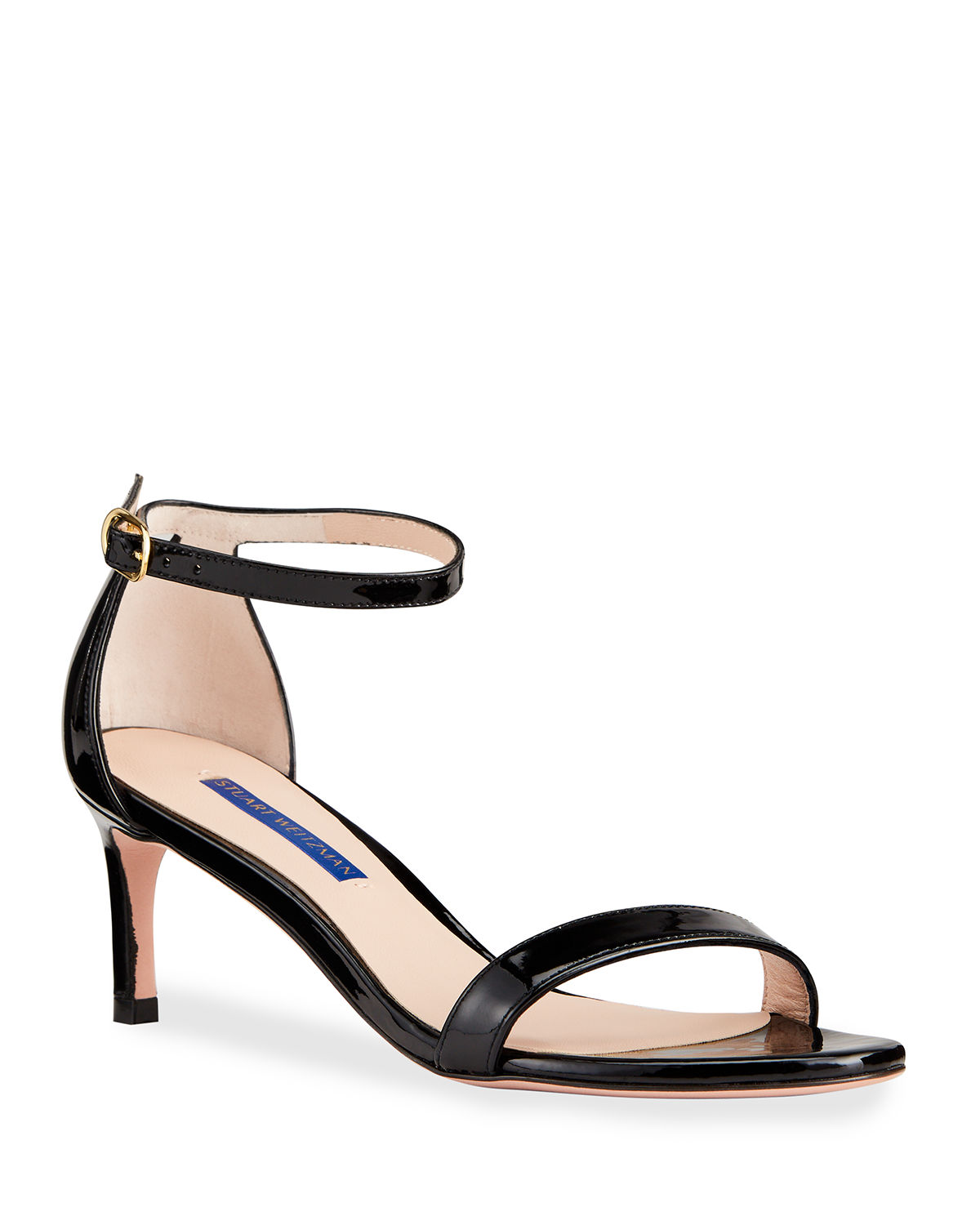 3240d61b5e6 Stuart Weitzman Nunaked Straight Patent Leather Sandals