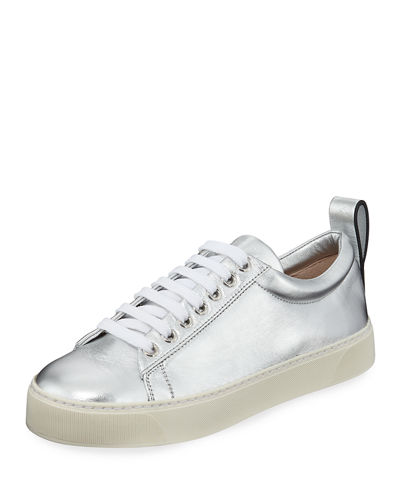 Adley Metallic Platform Sneakers