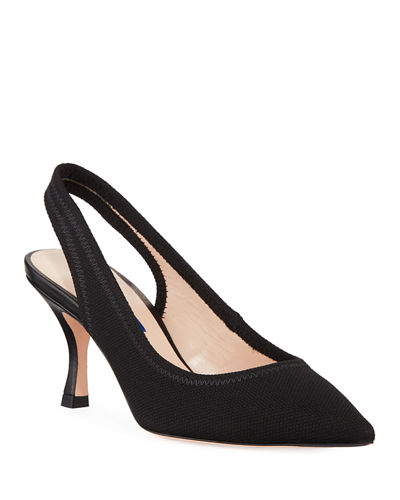 Odette Knit Slingback Pumps
