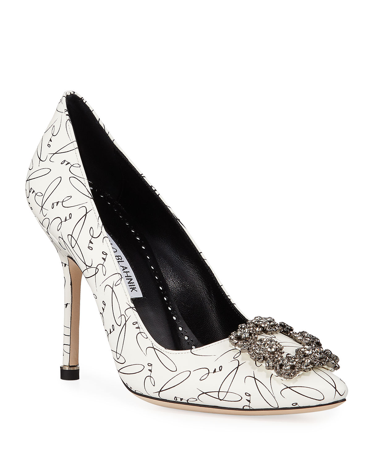 Hangisi 10th Anniversary Love Leather Pumps