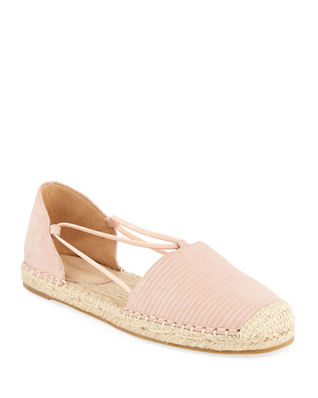 Eileen Fisher Shoes LEE SUEDE D'ORSAY ESPADRILLES