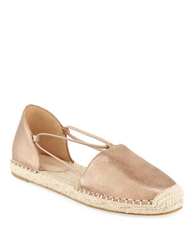 Lee Leather d'Orsay Espadrilles