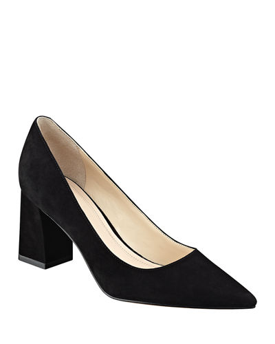 c141149cc99 Block Heel Pointed Toe Shoes