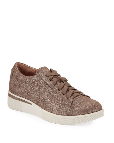 Haddie Leather Platform Sneakers