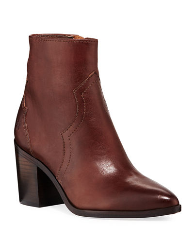 7a478071e Quick Look. Frye · Flynn Short Burnished Leather Western Boots