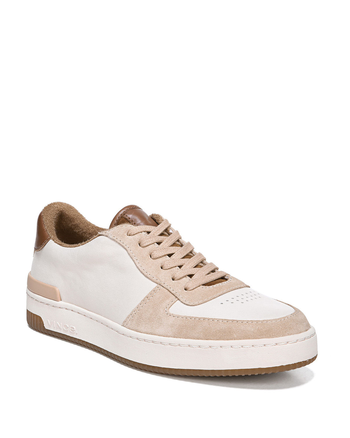 c4c28f561425c Vince Rendel Suede Leather Sneakers