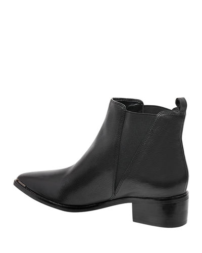 Marc Fisher LTD Yale Leather Pointed Chelsea Booties
