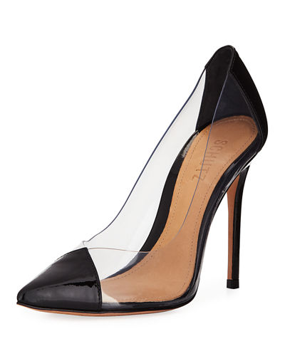 Cendi See-Through Vinyl Pumps