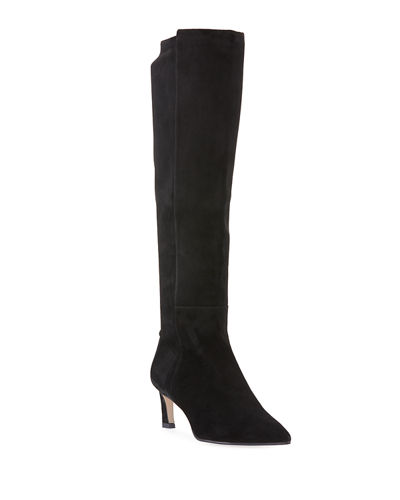 Demi 55mm Suede Knee Boots