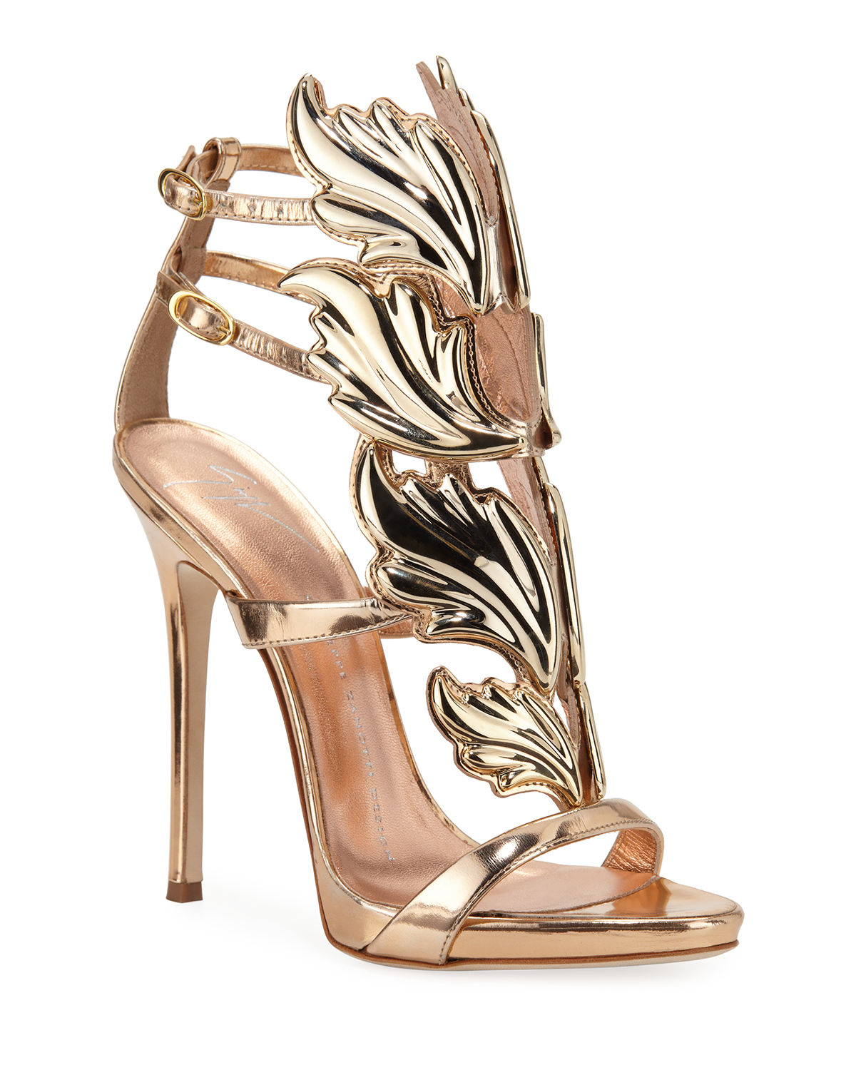 c30cd6c895f Giuseppe Zanotti Coline Wings Suede 110mm Sandals