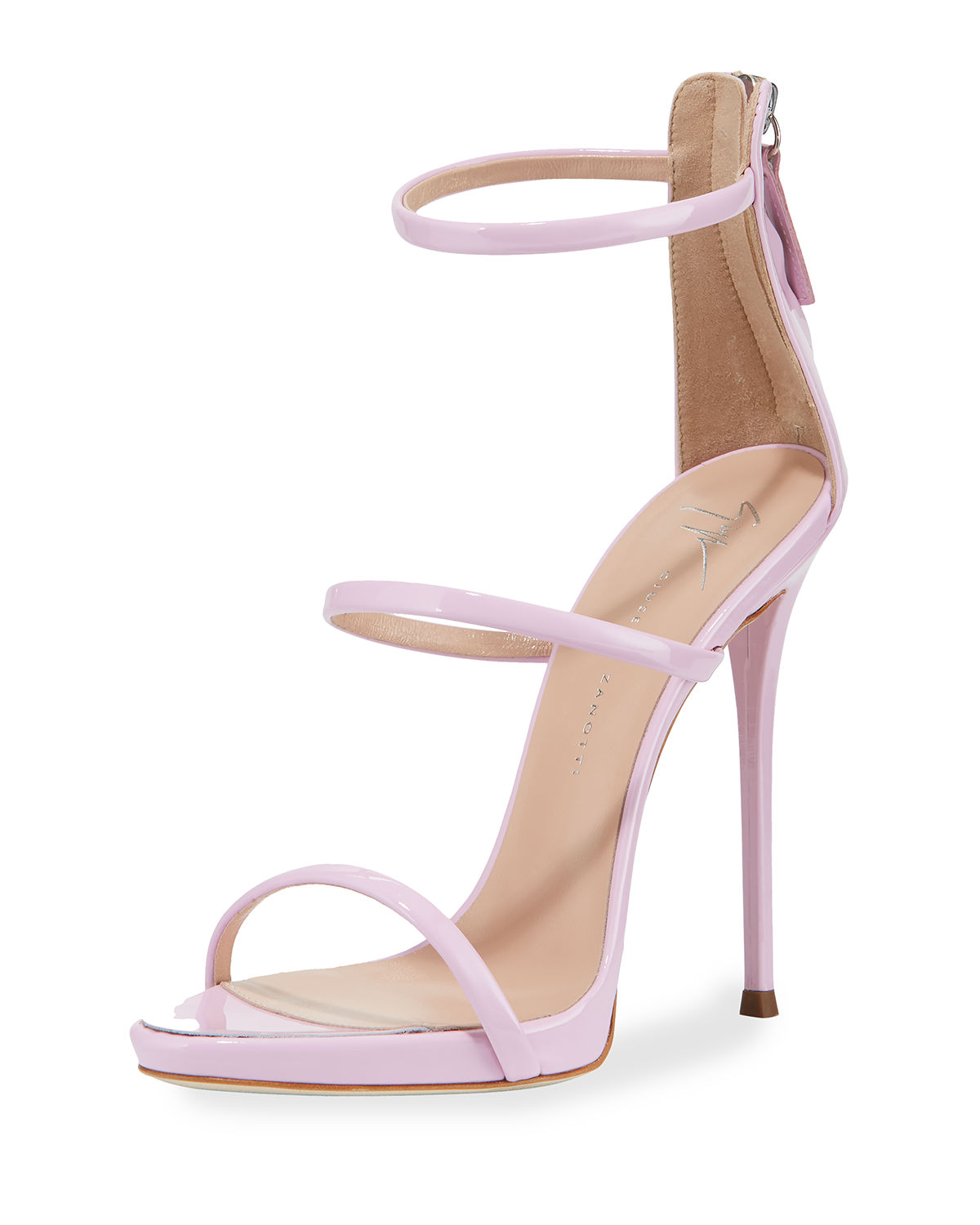 9f90c50032a Giuseppe Zanotti Three-Strap 120mm Sandals