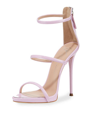 6be14b3149e Giuseppe Zanotti Three-Strap 120mm Sandals