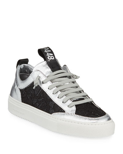 Soho Embellished Patent Leather Sneakers