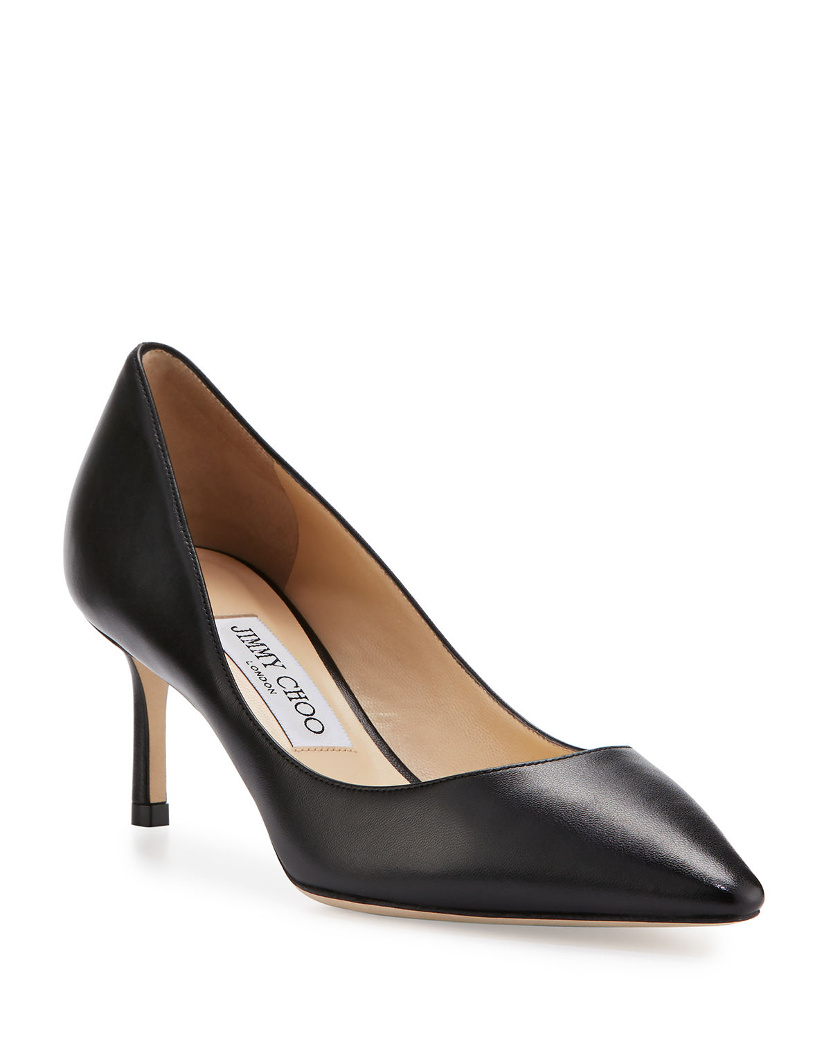 Romy 60mm Leather Pumps