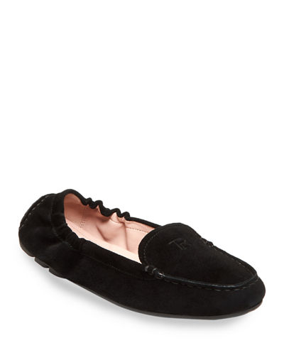 Kristine Suede Stretch Loafers