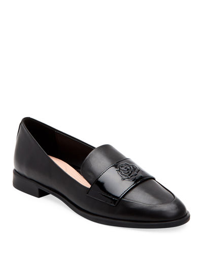 Blossom Patent/Leather Loafers