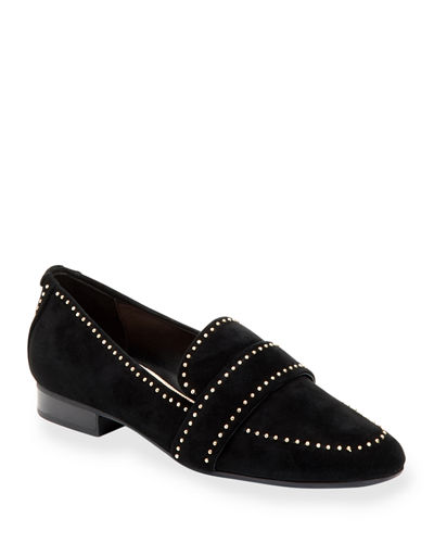 Bristol Studded Suede Loafers